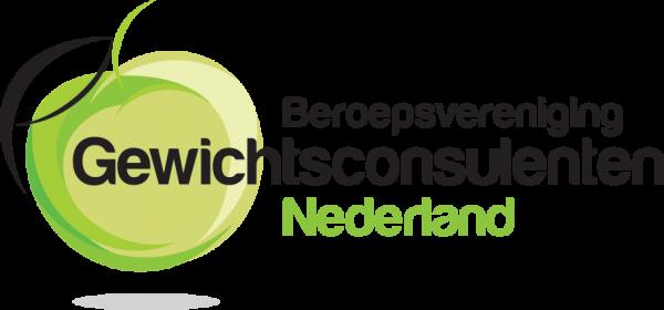 Wij zijn aangesloten bij de Beroepsvereniging Gewichtconsulenten Nederland