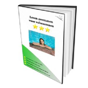 Leren zwemmen voor volwassenen met dit e-book