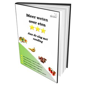 Meer weten over eten met dit e-book