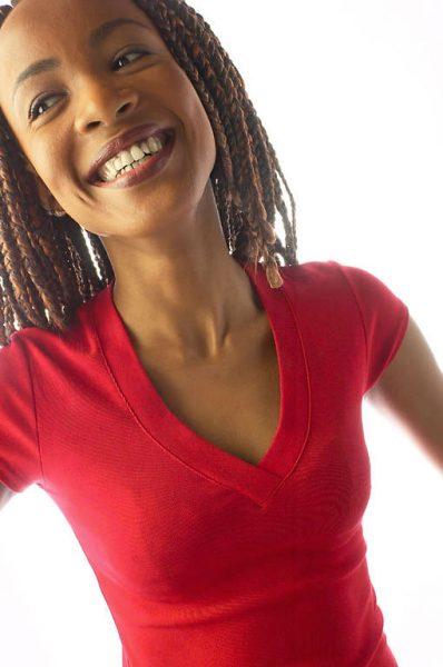Vrouw met een gezonde leefstijl