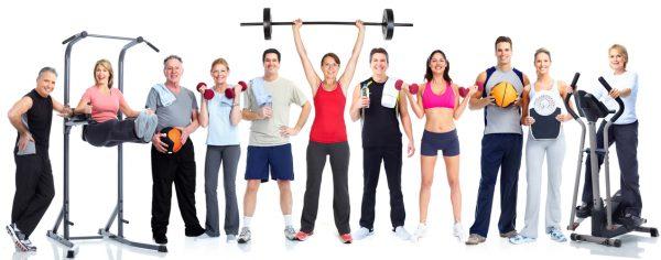 Werken met een fitnessschema