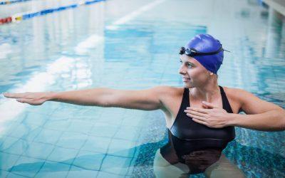 Loodzware zwemoefeningen