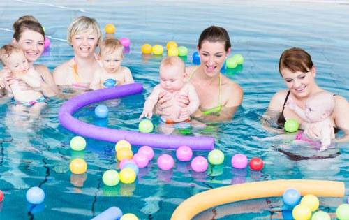 Zwemmen met je baby, peuter of kleuter